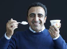 chobani with cup
