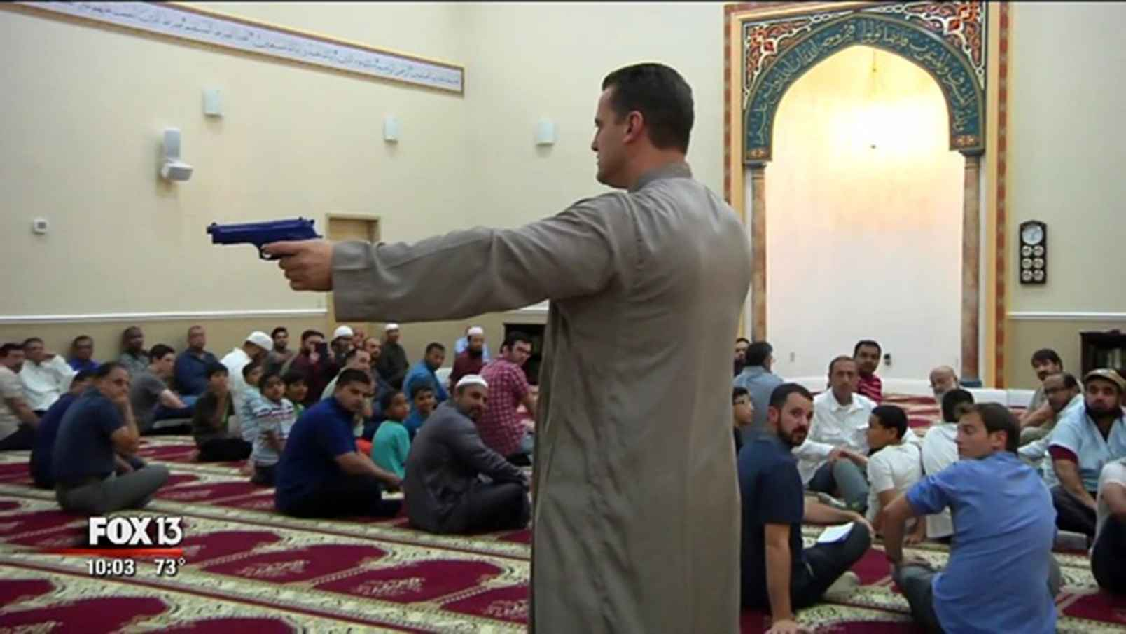 CAIRS DEPUTY HAMAS TEACHES RADICAL MOSQUE TO USE GUNS